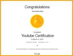 Youtube certification viom institute